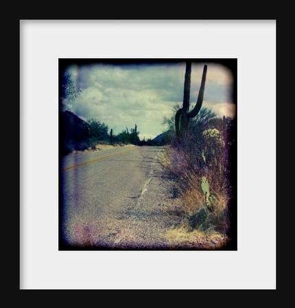 Arizona Highway- 8x8 Fine Art Print