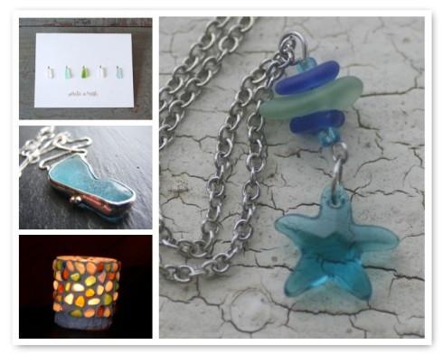 i {heart} sea glass