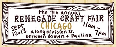 Chicago Renegade Craft Fair September 2009