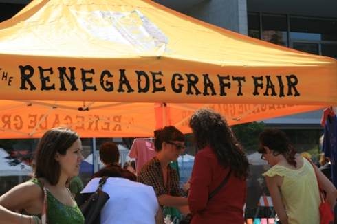 renegade craft fair, chicago