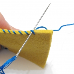 Whip stitch tutorial