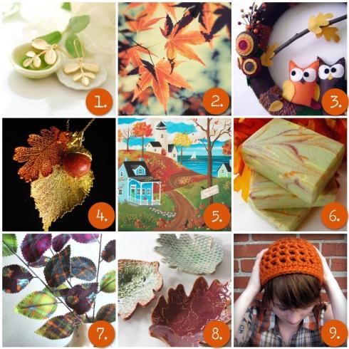 Wednesday Inspiration- Autumn Leaves
