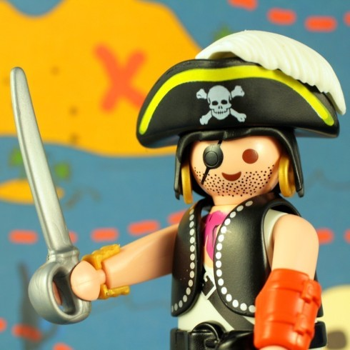 Pirate Greeting Card or Invitation by creativeapples