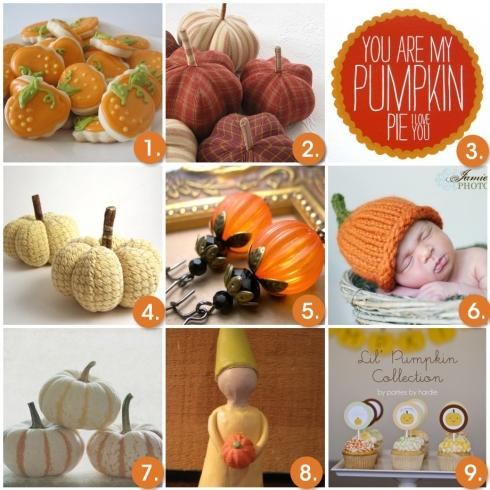 Wednesday Inspiration- Pumpkins!