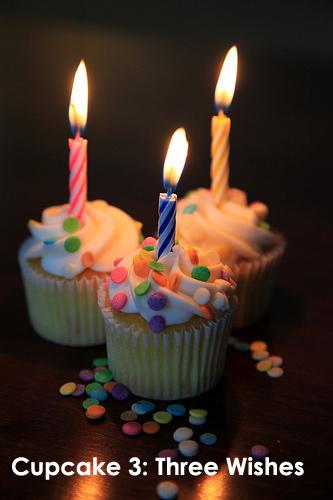 Cupcake 3: Three Wishes