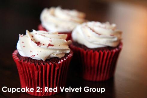 Cupcake 2: Red Velvet Group