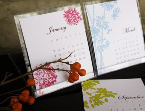 Nature Calendar 2011 from siskastudio
