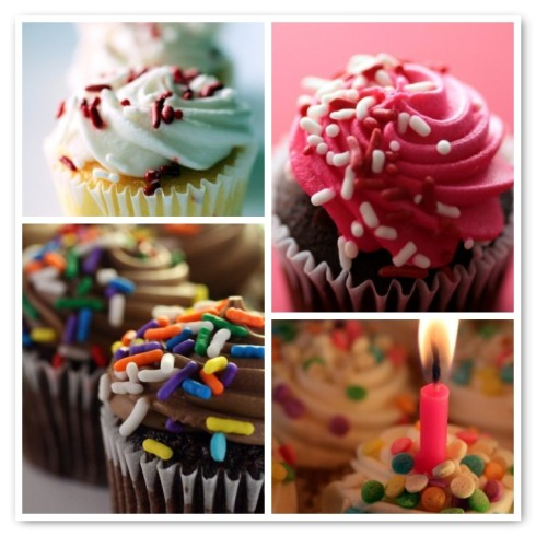 Set of Cupcake Greeting Cards from Creativeapples.etsy.com