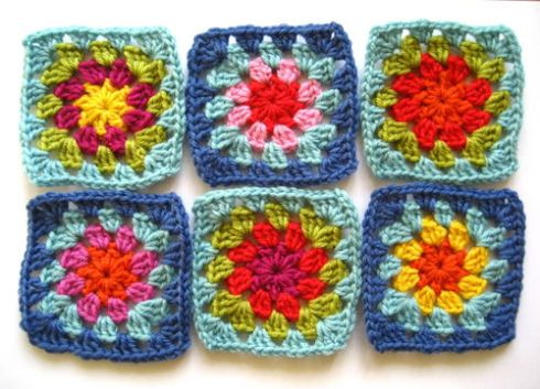 Summer Garden Granny Square from Attic 24