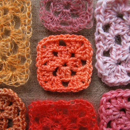 Granny Squares from the Purl Bee