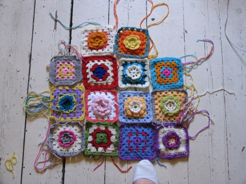 Crochet School- how to make a crocket blanket