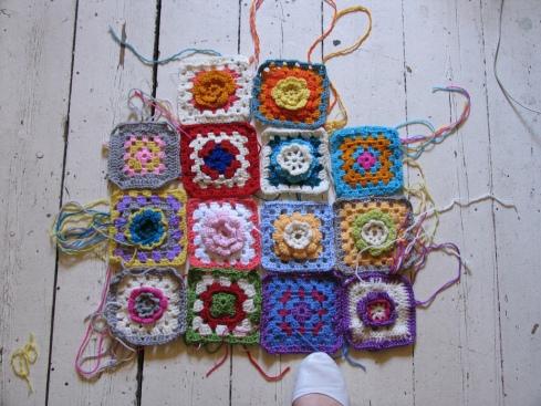 Crochet School- how to make a crocket blanket
