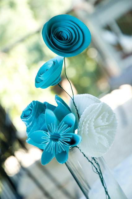 DIY- Six Paper Flowers