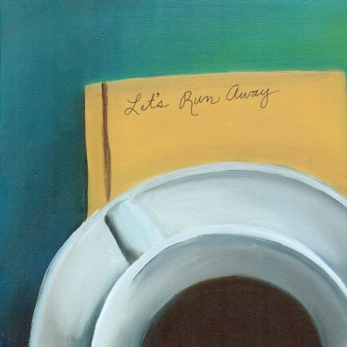Let's Run Away Fine Art Print from original Oil Painting
